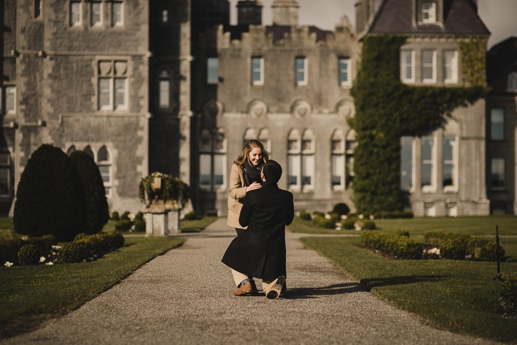 T + D   Surprise Proposal at Ashford Castle