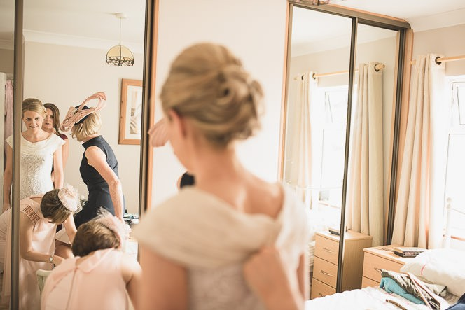 Pamela and Ken Beautiful Outdoor Wedding Ceremony in Station House Hotel 0081