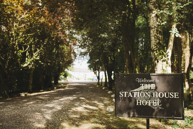 Pamela and Ken Beautiful Outdoor Wedding Ceremony in Station House Hotel 0095