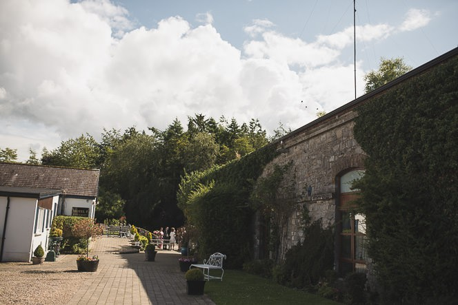 Pamela and Ken Beautiful Outdoor Wedding Ceremony in Station House Hotel 0096