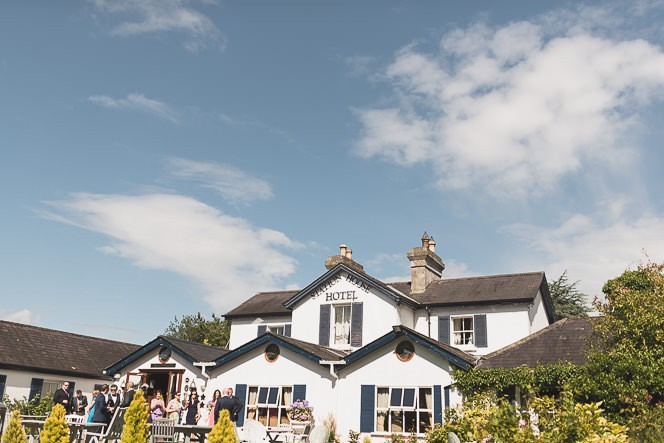 Pamela and Ken Beautiful Outdoor Wedding Ceremony in Station House Hotel 0097