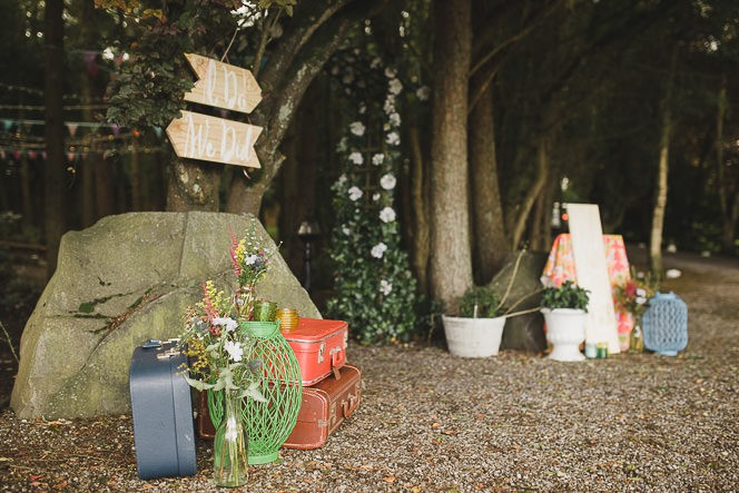 Pamela and Ken Beautiful Outdoor Wedding Ceremony in Station House Hotel 0101