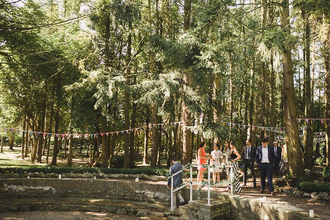 Pamela and Ken Beautiful Outdoor Wedding Ceremony in Station House Hotel 0115