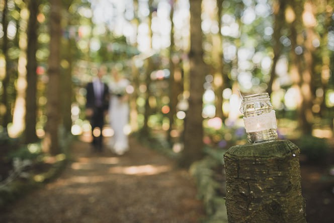 Pamela and Ken Beautiful Outdoor Wedding Ceremony in Station House Hotel 0122