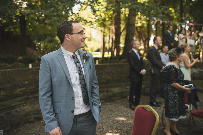 Pamela and Ken Beautiful Outdoor Wedding Ceremony in Station House Hotel 0124