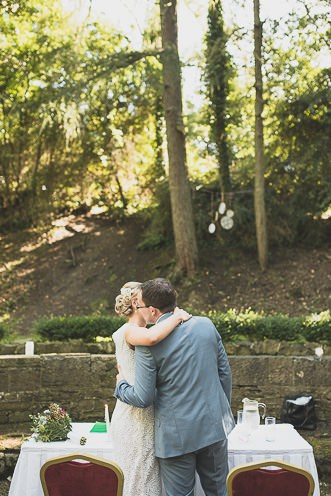 Pamela and Ken Beautiful Outdoor Wedding Ceremony in Station House Hotel 0143