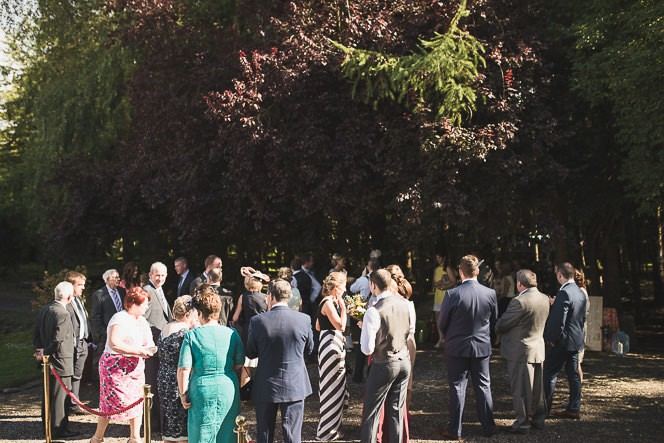 Pamela and Ken Beautiful Outdoor Wedding Ceremony in Station House Hotel 0146