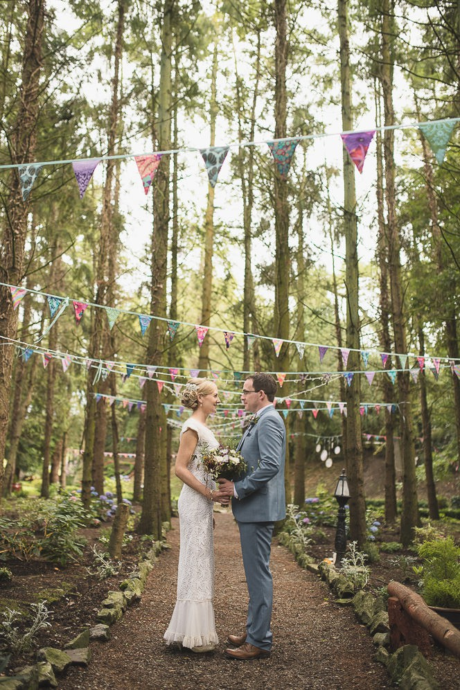 Pamela and Ken Beautiful Outdoor Wedding Ceremony in Station House Hotel 0156