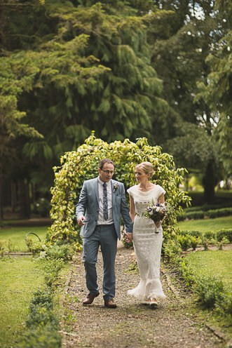Pamela and Ken Beautiful Outdoor Wedding Ceremony in Station House Hotel 0180
