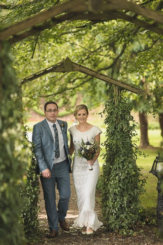 Pamela and Ken Beautiful Outdoor Wedding Ceremony in Station House Hotel 0183