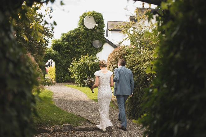 Pamela and Ken Beautiful Outdoor Wedding Ceremony in Station House Hotel 0186