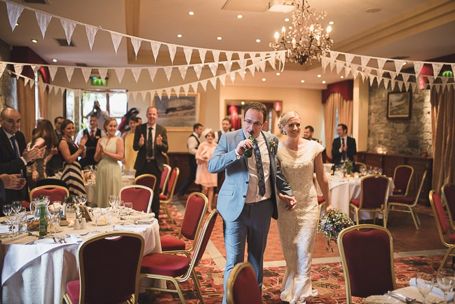 Pamela and Ken Beautiful Outdoor Wedding Ceremony in Station House Hotel 0206