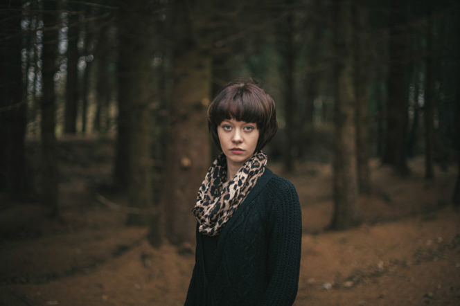 Chantelle lifestyle portraits in the forest dublin ireland beautiful sensual portraiture irish (1)