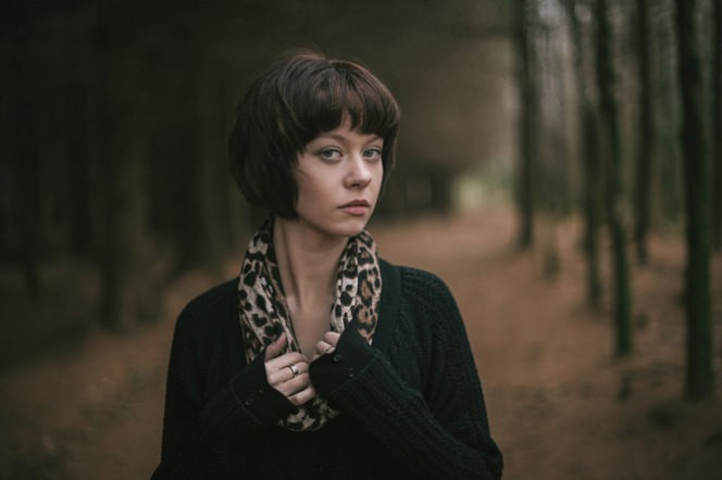 Chantelle lifestyle portraits in the forest dublin ireland beautiful sensual portraiture irish (4)