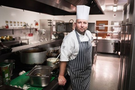 Podraig Scully Head Chef of Portlaoise Heritage Hotel by Tomasz Kornas Ireland Wedding Photographer