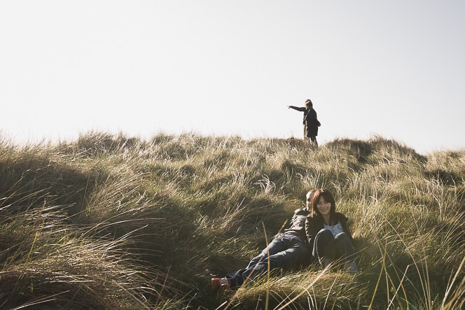 Ursula and Colin Engagement Shoot at Portmarnock Beach in Dublin by Alternative Irish Wedding Photographer (30)