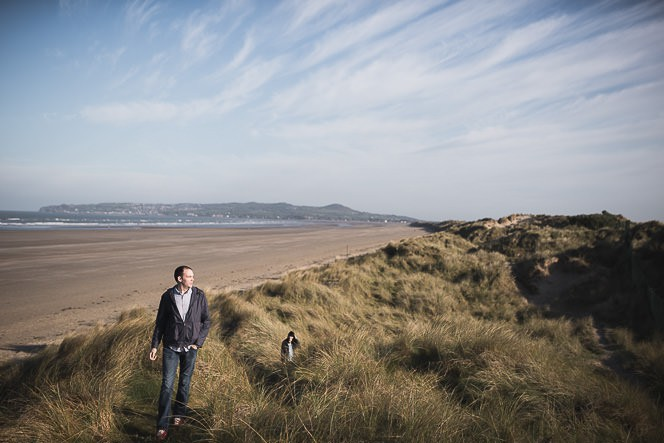 Ursula and Colin Engagement Shoot at Portmarnock Beach in Dublin by Alternative Irish Wedding Photographer (39)