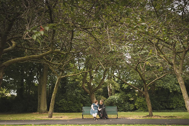 Beautiful Engagement Photoshoot in Herbert Park Dublin Ireland by Wedding Photographer Tomasz Kornas0007