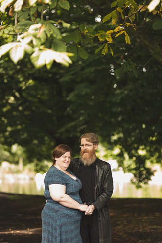 Beautiful Engagement Photoshoot in Herbert Park Dublin Ireland by Wedding Photographer Tomasz Kornas0026