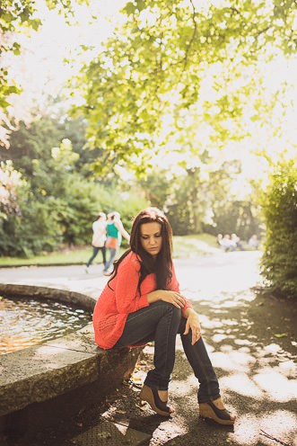 Personal Portraits ~ Vilma ~ Temple Bar ~ St. Stephens Green ~ Dublin. Ireland.