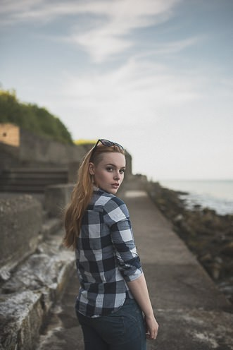 Natural outdoor portraits with megan bea tiernan in Dun Laoghaire Pier Ireland 0029