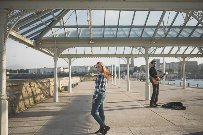 Natural outdoor portraits with megan bea tiernan in Dun Laoghaire Pier Ireland 0036