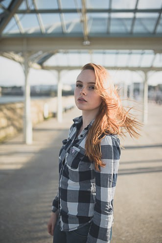 Natural outdoor portraits with megan bea tiernan in Dun Laoghaire Pier Ireland 0037