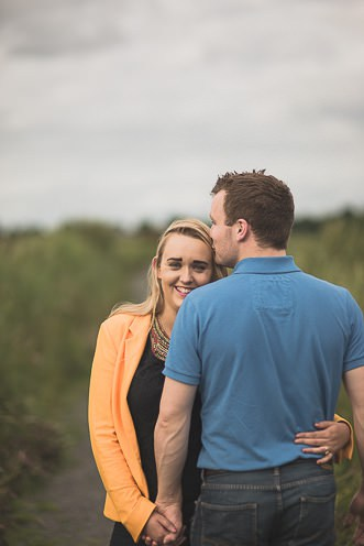 C + E ~ Pre Wedding Photography Ireland ~ Pollardstown Fen, Kildare