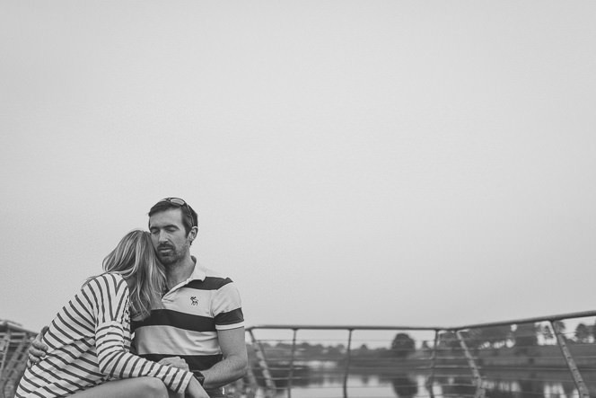 Louise and Kieran Natural relaxed pre wedding photography at lake 0059