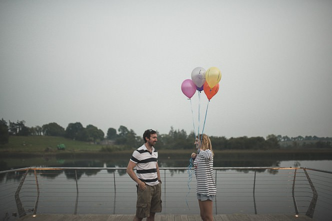 Louise and Kieran Natural relaxed pre wedding photography at lake 0081