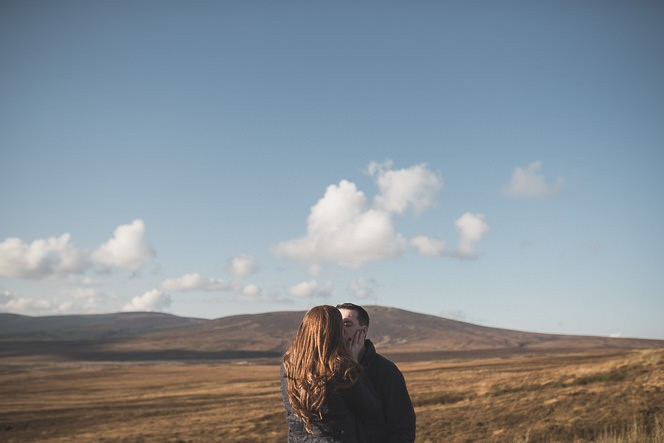 Aoife Kevin Beautiful Romantic Pre Wedding Photography in Wicklow Mountains Ireland 0005