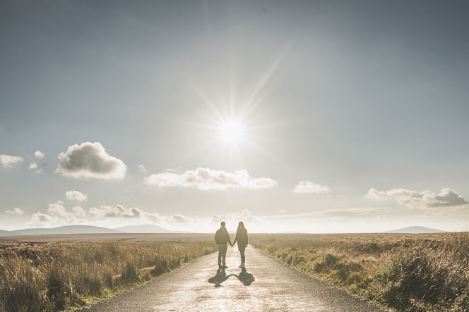 Aoife Kevin Beautiful Romantic Pre Wedding Photography in Wicklow Mountains Ireland 0011