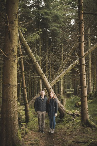 Aoife Kevin Beautiful Romantic Pre Wedding Photography in Wicklow Mountains Ireland 0015