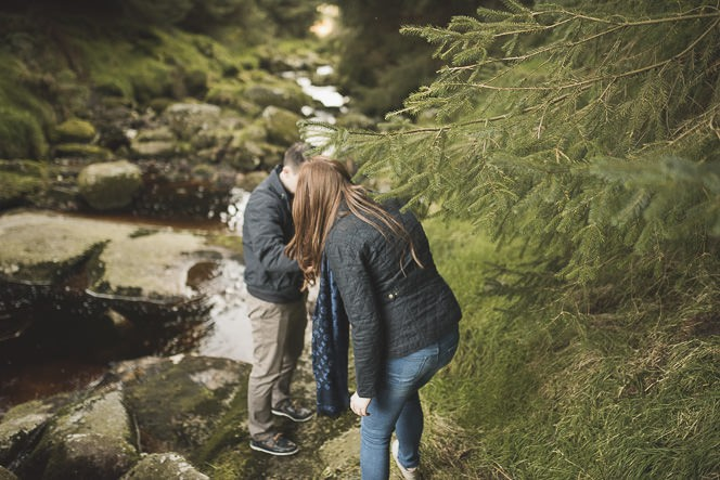 Aoife Kevin Beautiful Romantic Pre Wedding Photography in Wicklow Mountains Ireland 0022