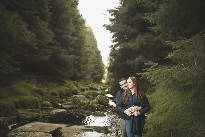 Aoife Kevin Beautiful Romantic Pre Wedding Photography in Wicklow Mountains Ireland 0023