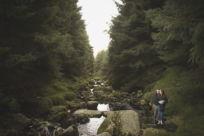 Aoife Kevin Beautiful Romantic Pre Wedding Photography in Wicklow Mountains Ireland 0024
