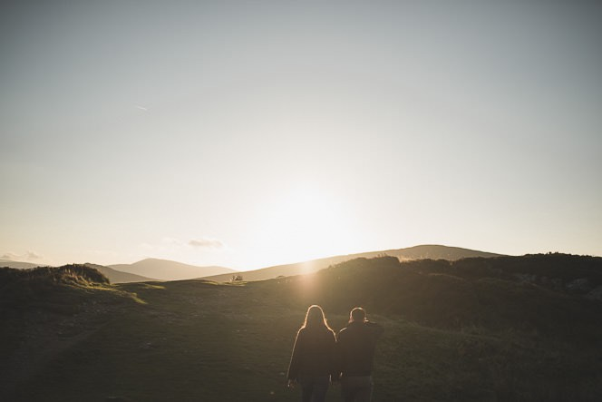 Aoife Kevin Beautiful Romantic Pre Wedding Photography in Wicklow Mountains Ireland 0026
