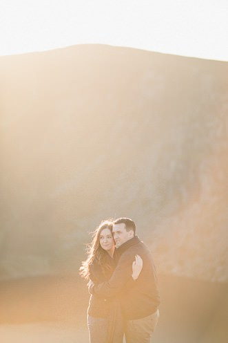 Aoife Kevin Beautiful Romantic Pre Wedding Photography in Wicklow Mountains Ireland 0036
