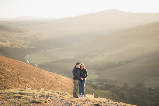 Aoife Kevin Beautiful Romantic Pre Wedding Photography in Wicklow Mountains Ireland 0038