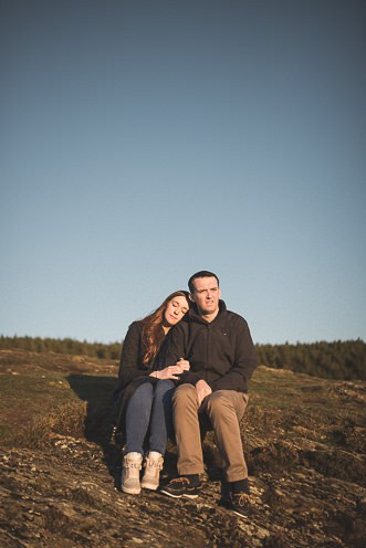 Aoife Kevin Beautiful Romantic Pre Wedding Photography in Wicklow Mountains Ireland 0043
