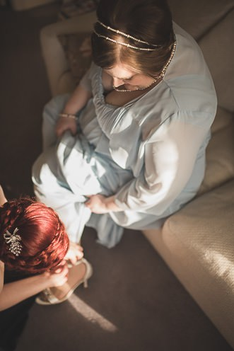 J + J ~ Alternative Weddings ~ Handfasting Ceremony ~ Thomas Prior Hall Ireland