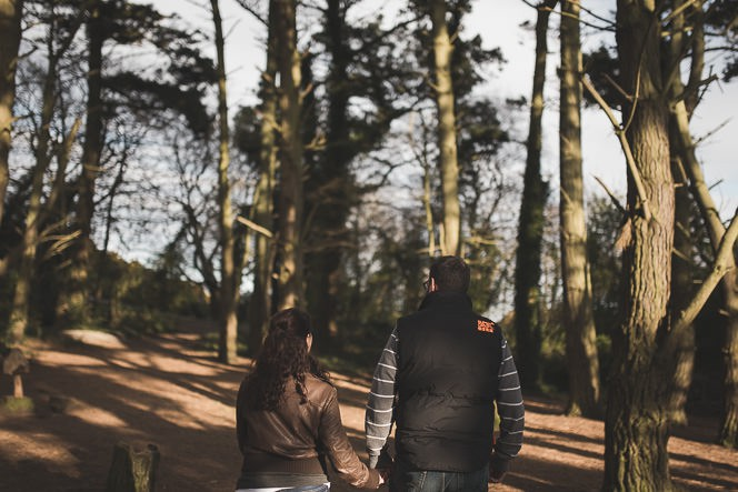 jacqui and conor beautiful natural engagement shoot in killiney hill dublin ireland documentary style by tomasz kornas 002