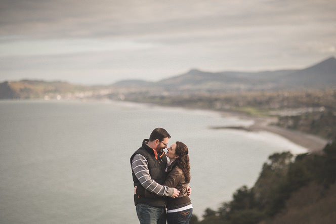 jacqui and conor beautiful natural engagement shoot in killiney hill dublin ireland documentary style by tomasz kornas 016