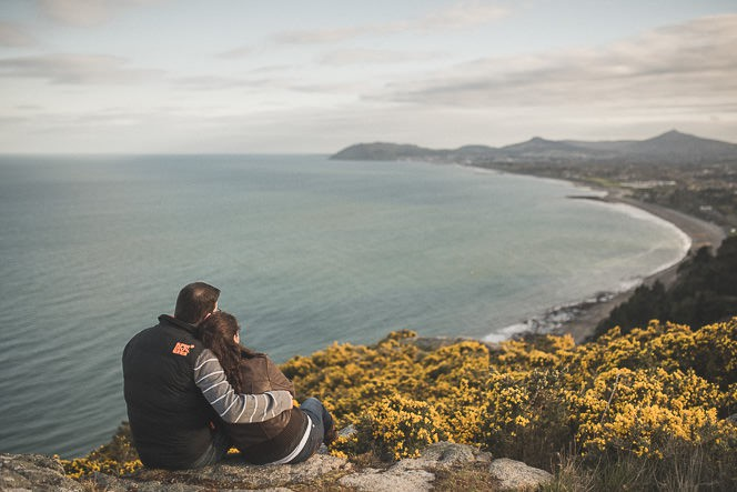 jacqui and conor beautiful natural engagement shoot in killiney hill dublin ireland documentary style by tomasz kornas 028