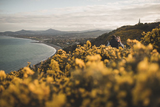 jacqui and conor beautiful natural engagement shoot in killiney hill dublin ireland documentary style by tomasz kornas 030