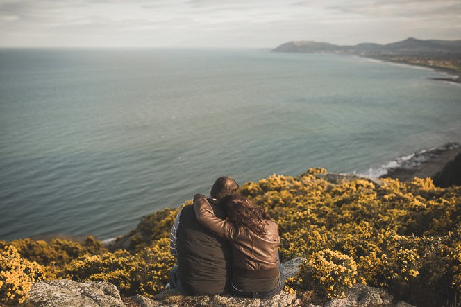 jacqui and conor beautiful natural engagement shoot in killiney hill dublin ireland documentary style by tomasz kornas 031