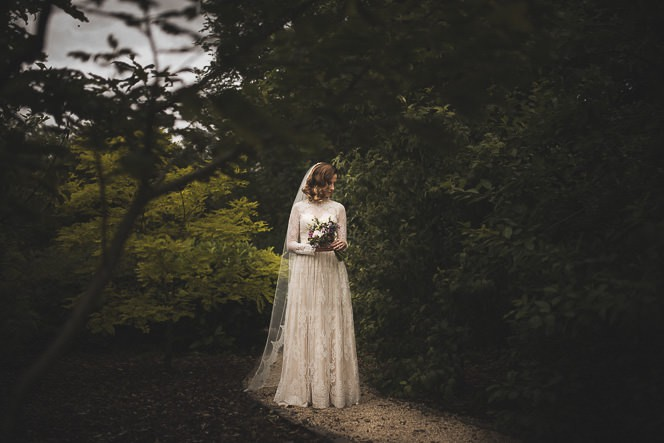 S + D ~ Portrait of the Bride ~ Cong Abbey ~ Ashford Castle
