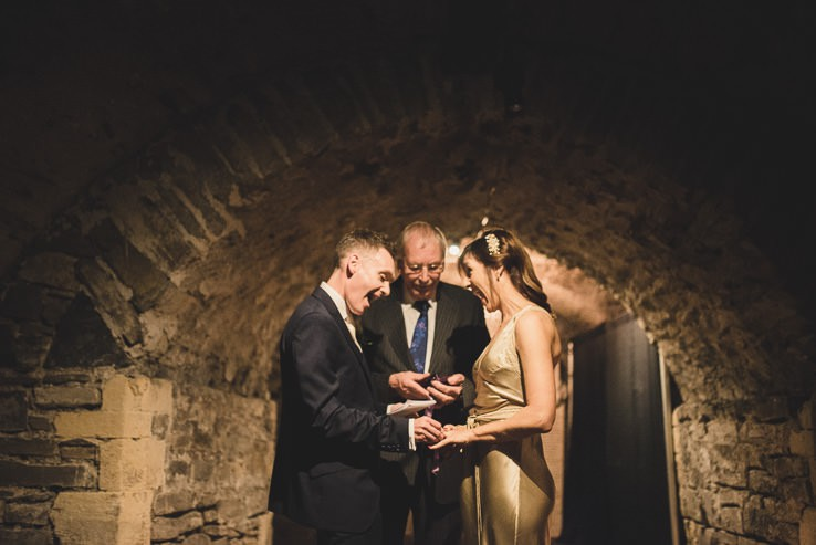 S + J ~ Christ Church Cathedral Crypt Wedding ~ Alternative Ireland Wedding Photographer