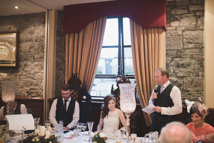 M + J ~ Festival Wedding in Station House ~ Irish Wedding Photographer