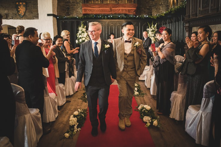K + H ~ Irish Wedding Photography ~ Kinnitty Castle